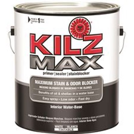 Kilz Max Water Based Primer Interior White 1 Gallon