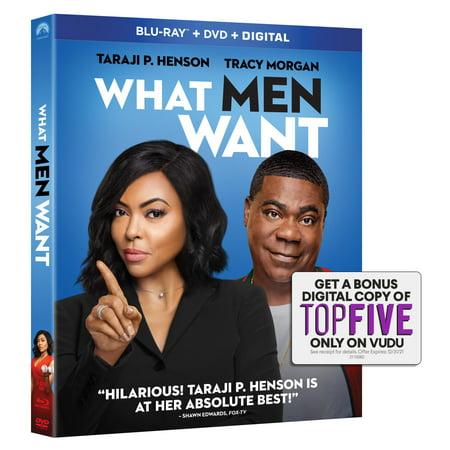 What Men Want (Blu-ray + DVD + Digital (Best 2bhip Men Movies)