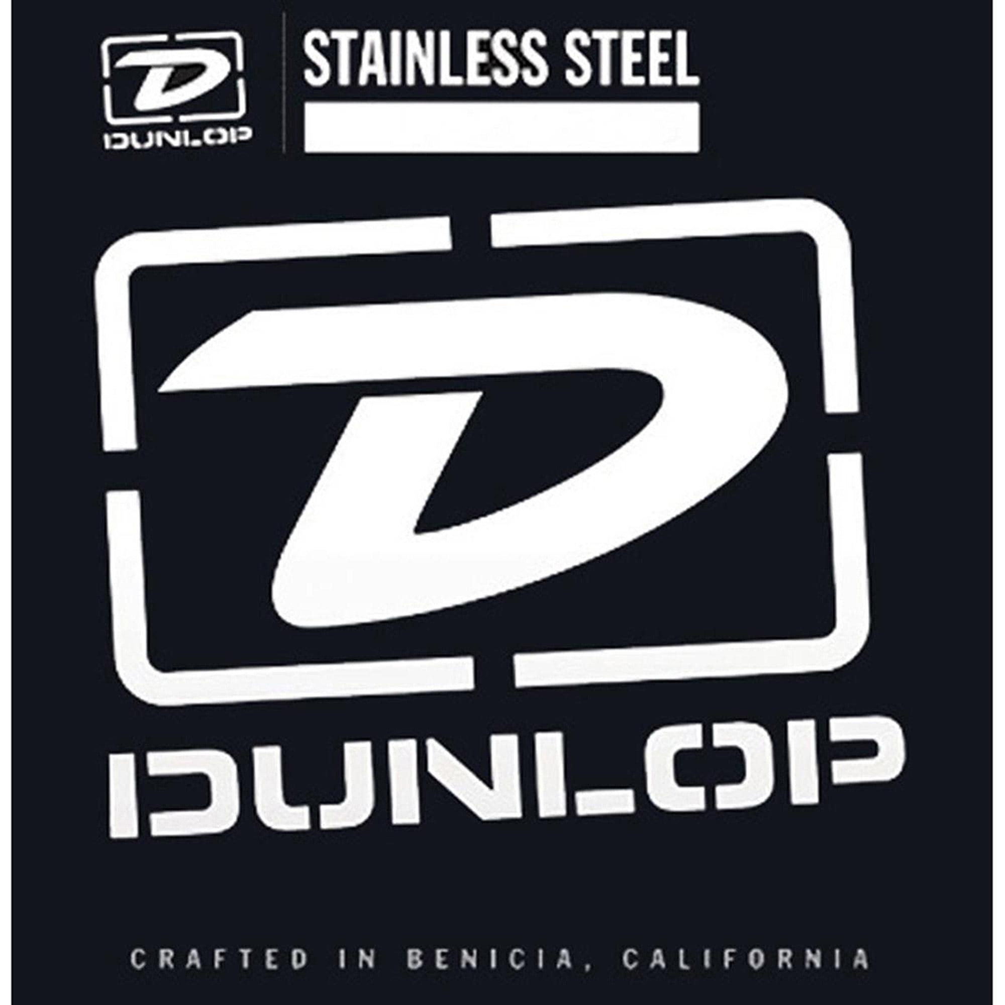 Dunlop DBS45125 Medium Stainless Steel Bass Guitar 5 String Set .045-.125 by Dunlop