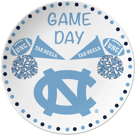 North Carolina Tar Heels Game Day Plate - No Size