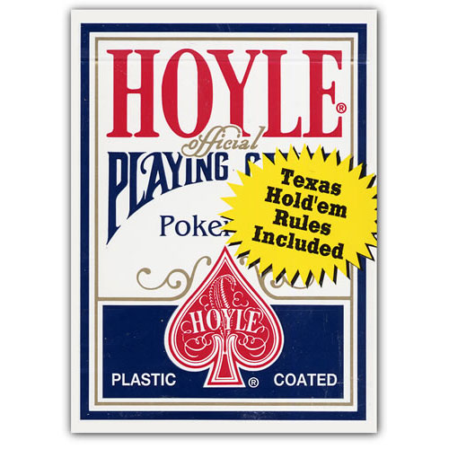 United States Hoyle Poker Sized Official Playing Cards - 6 Ea