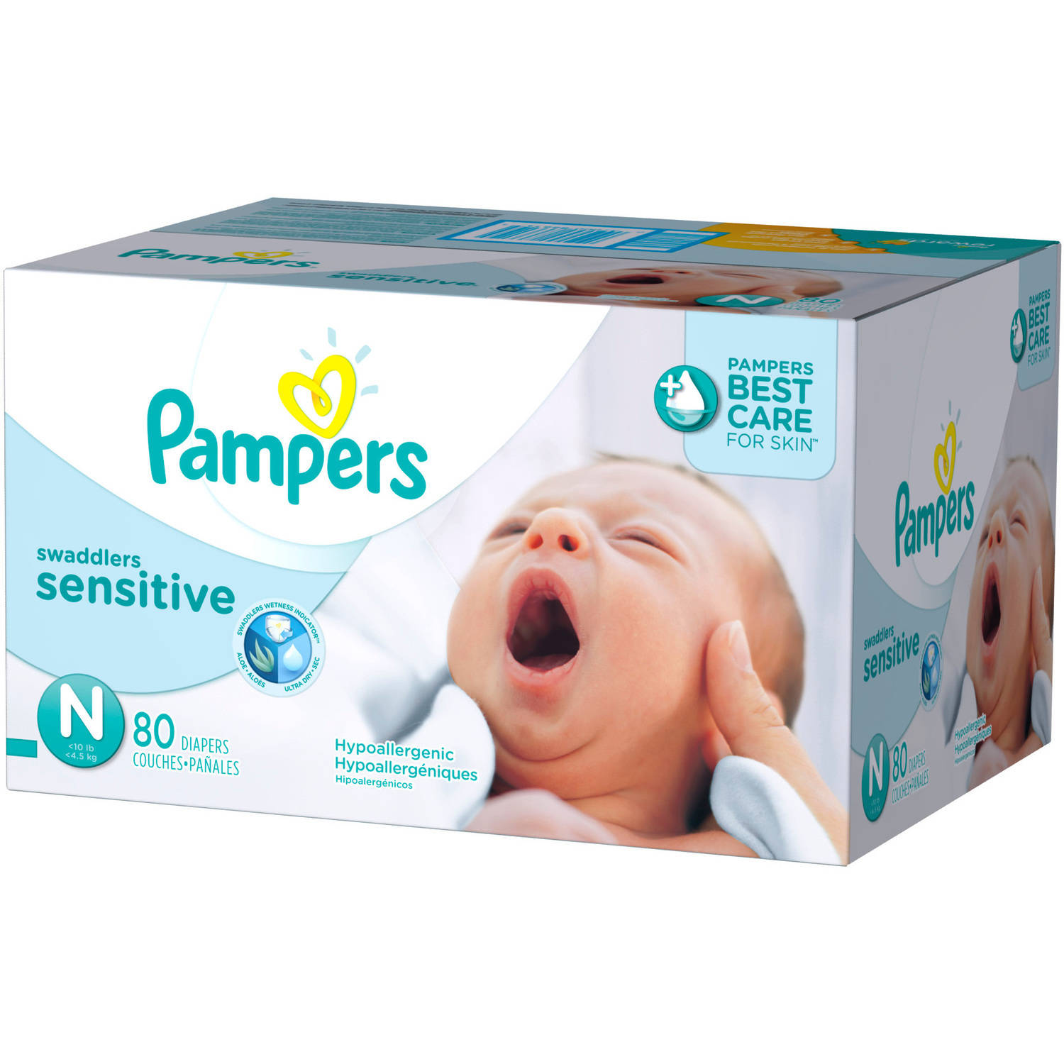 Pampers Swaddlers Sensitive Diapers, (Choose Your Size)