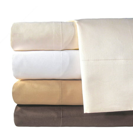 Veratex  Inc  Supreme Sateen 800 Thread Count Solid Egyptian Cotton Pillowcases  2Pk