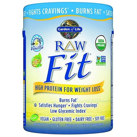 Garden Of Life Raw Fit High Protein For Weight Loss Vanilla 14 8 Oz 420 Grm Pack Of 1