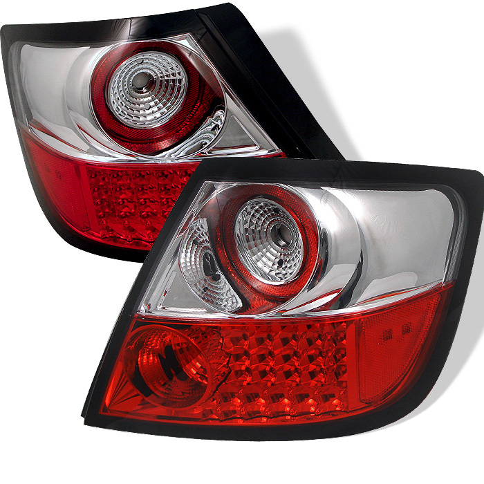 Spyder Scion TC 05-10 LED Tail Lights (Not compatible with any TYC upgraded packages) - Red Clear