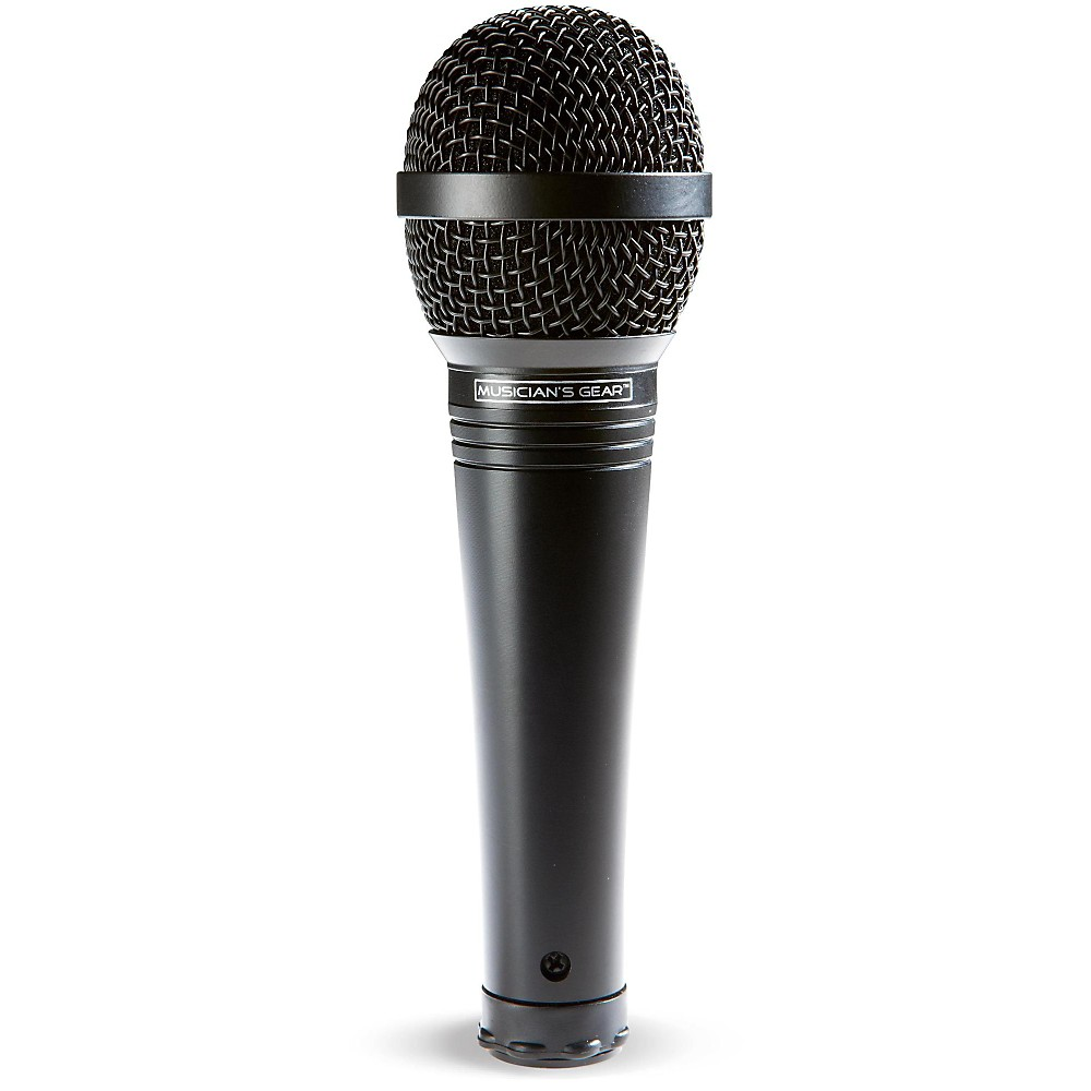 Musician's Gear MV-1000 Handheld Dynamic Vocal Microphone Black by Musician's Gear