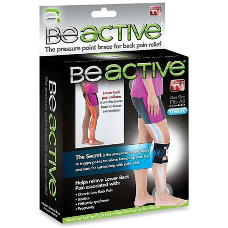 As Seen On Tv Beactive Therapeutic Brace Relieve Lower Back Pain And Sciatica Pressure