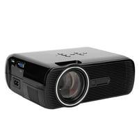 LHCER Portable Mini HD 1080P LED Smart Projector HDMI USB Home Cinema Home Theater (US Plug), USB Home Theater, Mini Projector HDMI