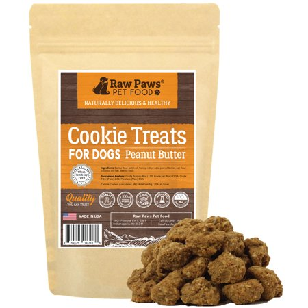 Eager Paws All-Natural Peanut Butter Dog Cookies, 5-ounce - Made in USA Only - Wheat Free Treats for Dogs - No Corn or Soy Free - Perfect Snacks for Puppies & Training - Sonic Corn Dogs On Halloween