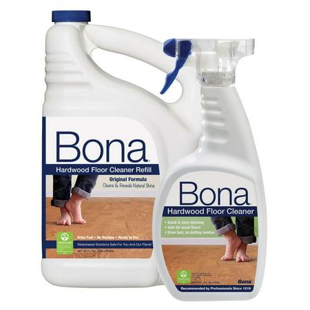 Product of Bona Hardwood Floor Cleaner, 22 oz. with 96 oz. Refill [Biz