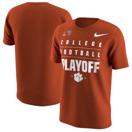 Clemson Tigers Nike College Football Playoff 2018 Sugar Bowl Bound T-Shirt - Orange (Tigers College Football Helmet)