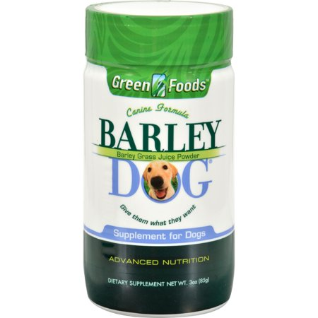 - Green Foods All-Breed Formula Barley Dog Grass Juice -- 3 oz