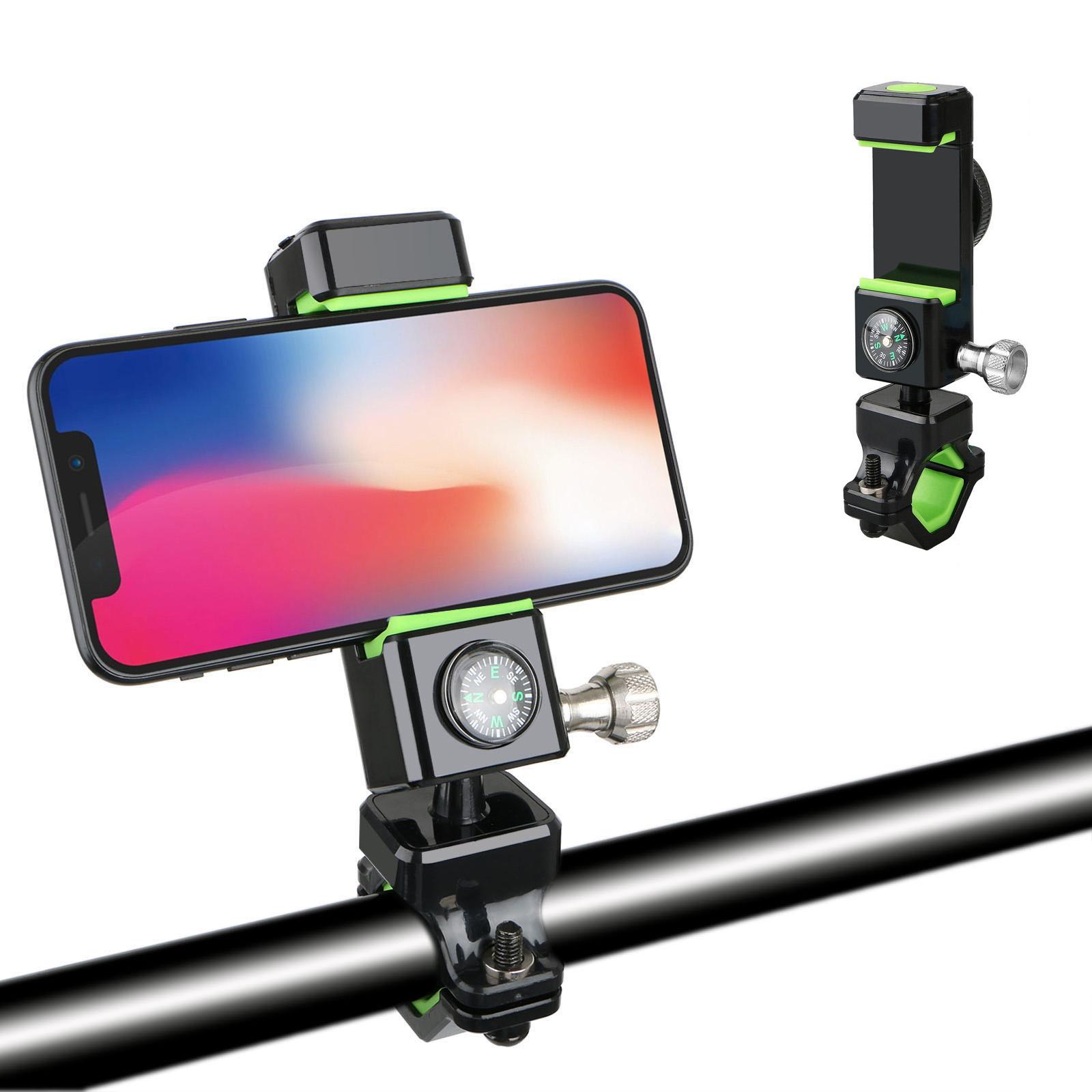 Aluminum Bicycle MTB Bike Mount Motorcycle Handlebar Phone Holder for iPhone 8/X