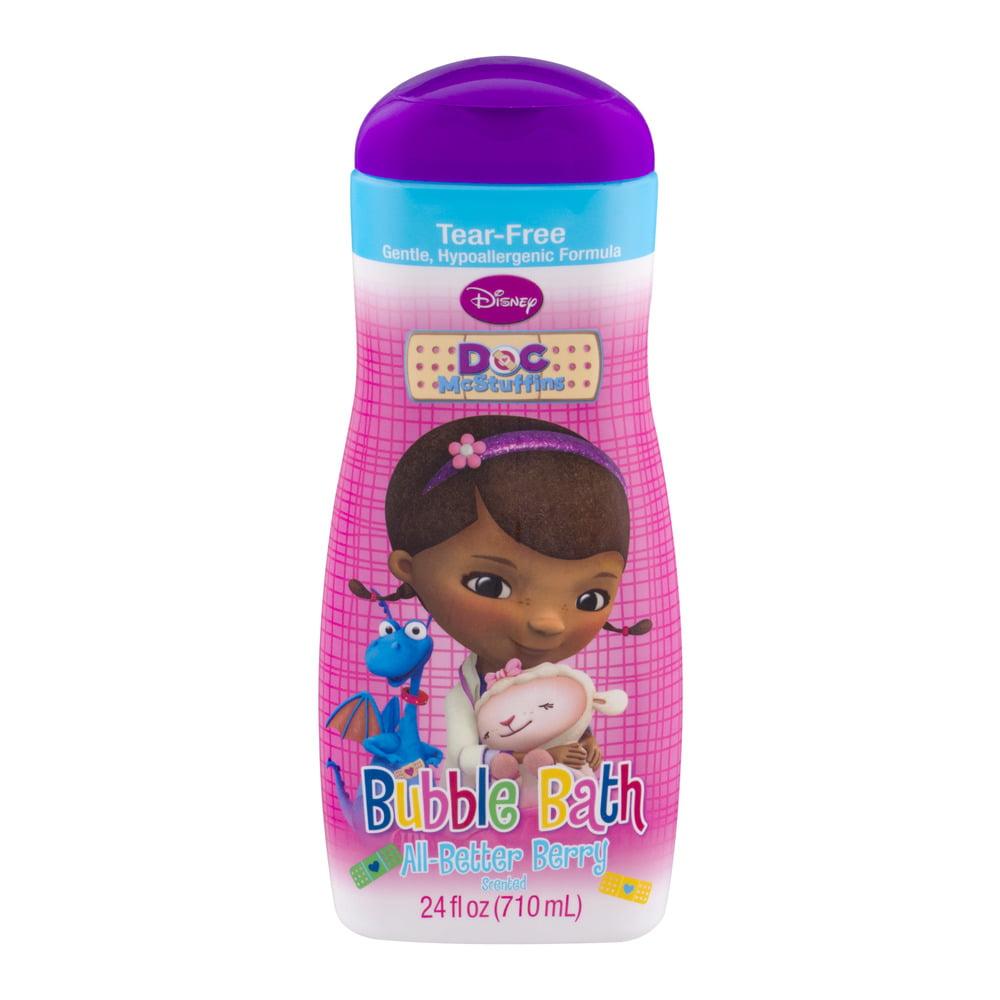 Disney Doc McStuffins Bubble Bath All-Better Berry Scented, 24.0 FL OZ