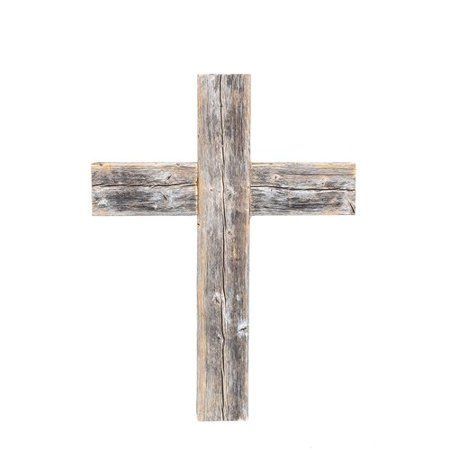 BarnwoodUSA Old Wooden Cross - Wooden Crosses For Sale