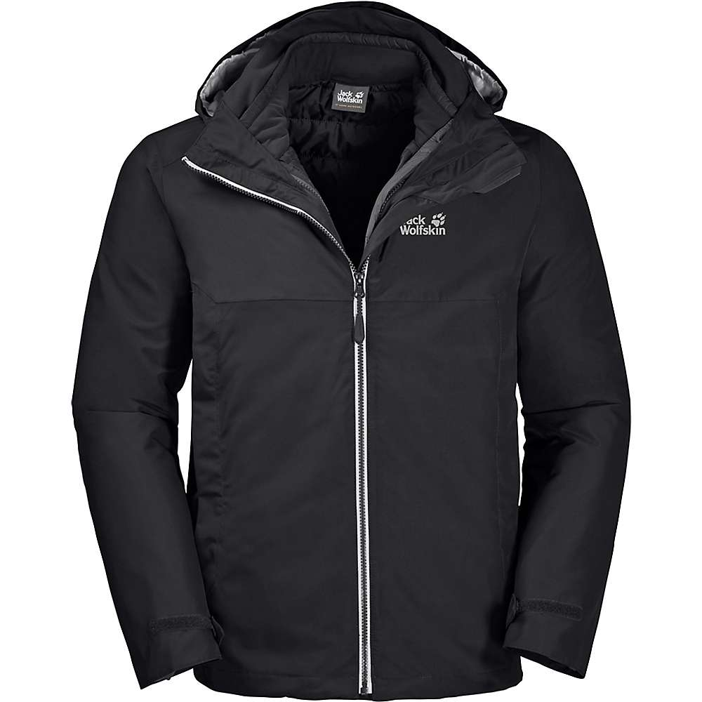 Jack Wolfskin Men's North Fjord 3 in 1 Jacket by Jack Wolfskin