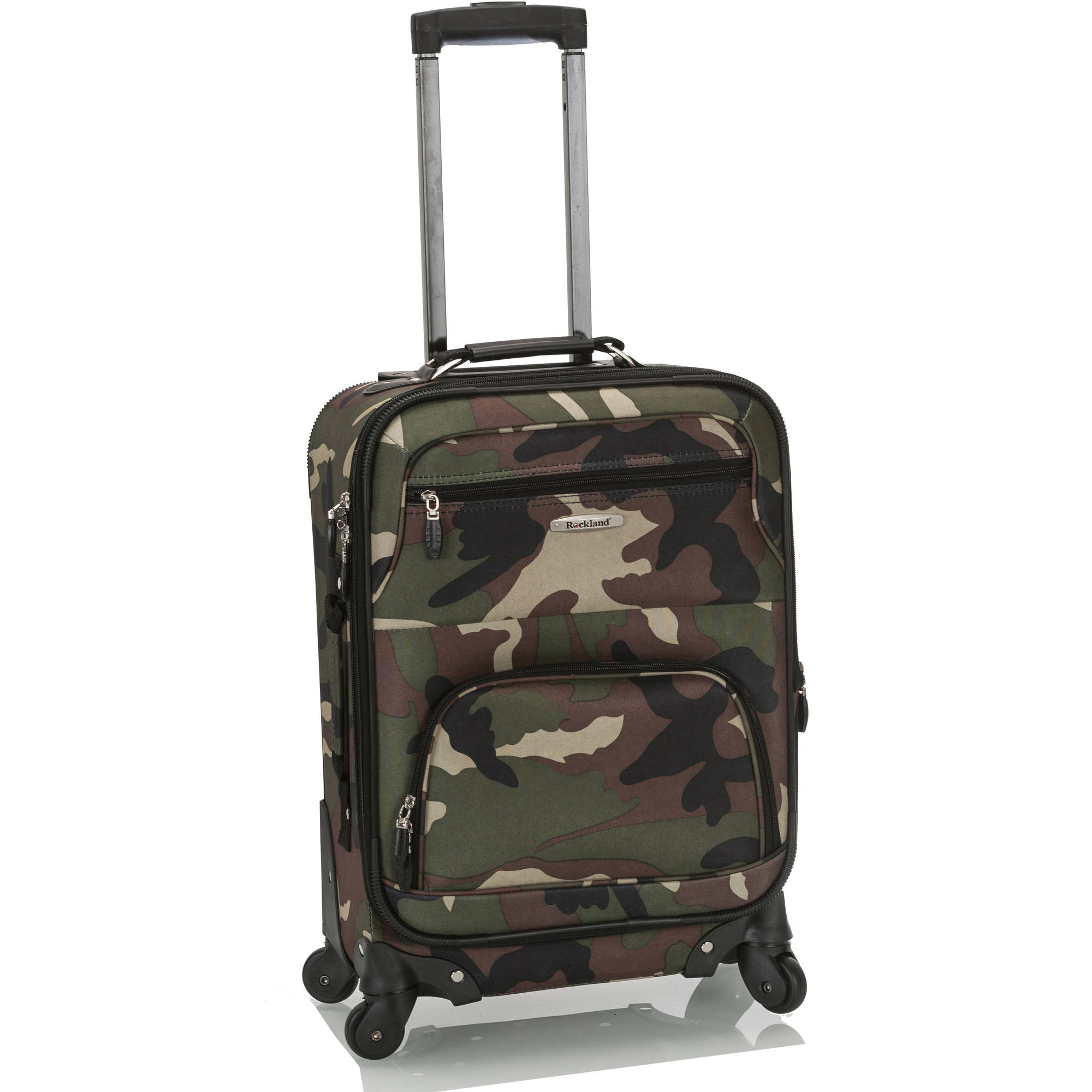 "Rockland Luggage Mariposa 19"" Expandable Spinner Carry On"