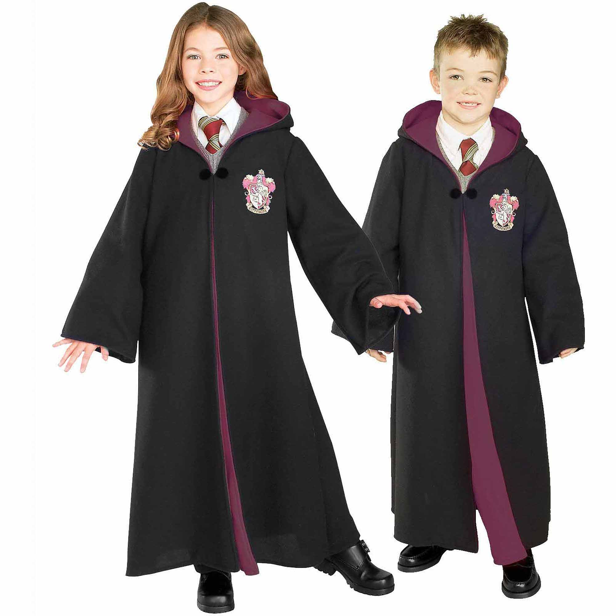 Harry Potter Deluxe Gryffindor Robe Child Halloween Costume