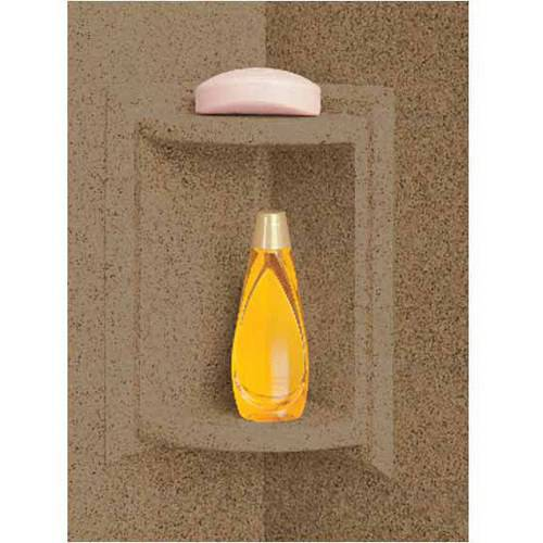 Swan SS-7211-091 Shower Wall Corner Shelf, Available in Various Colors