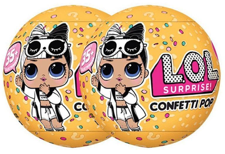 LOL Surprise Series 3.2 Confetti Pop Mystery Pack Black /& White Robe