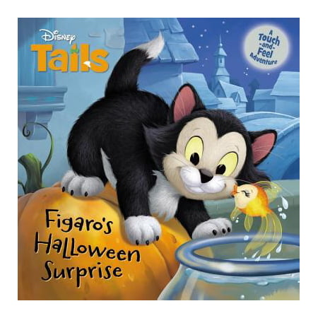 Disney Tails Figaro's Halloween Surprise (Board Book) (Disney Tv Schedule For Halloween)