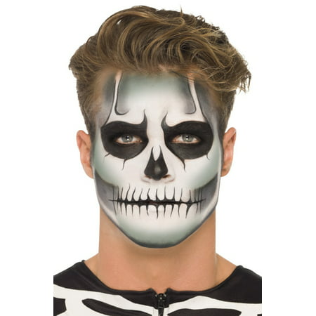 Glow in the Dark Skeleton Make-Up Kit - Skeleton Makeup For Guys
