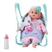 "My Sweet Love 14"" Baby Doll and Sling Carrier Play Set, 2 Pieces, Unicorn, Caucasian"