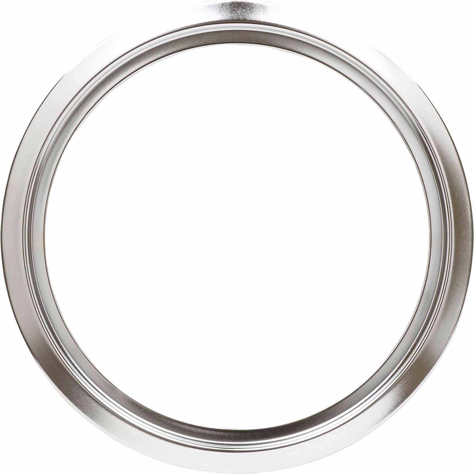 "GE Stove Chrome Trim Ring, 8"", Chrome"