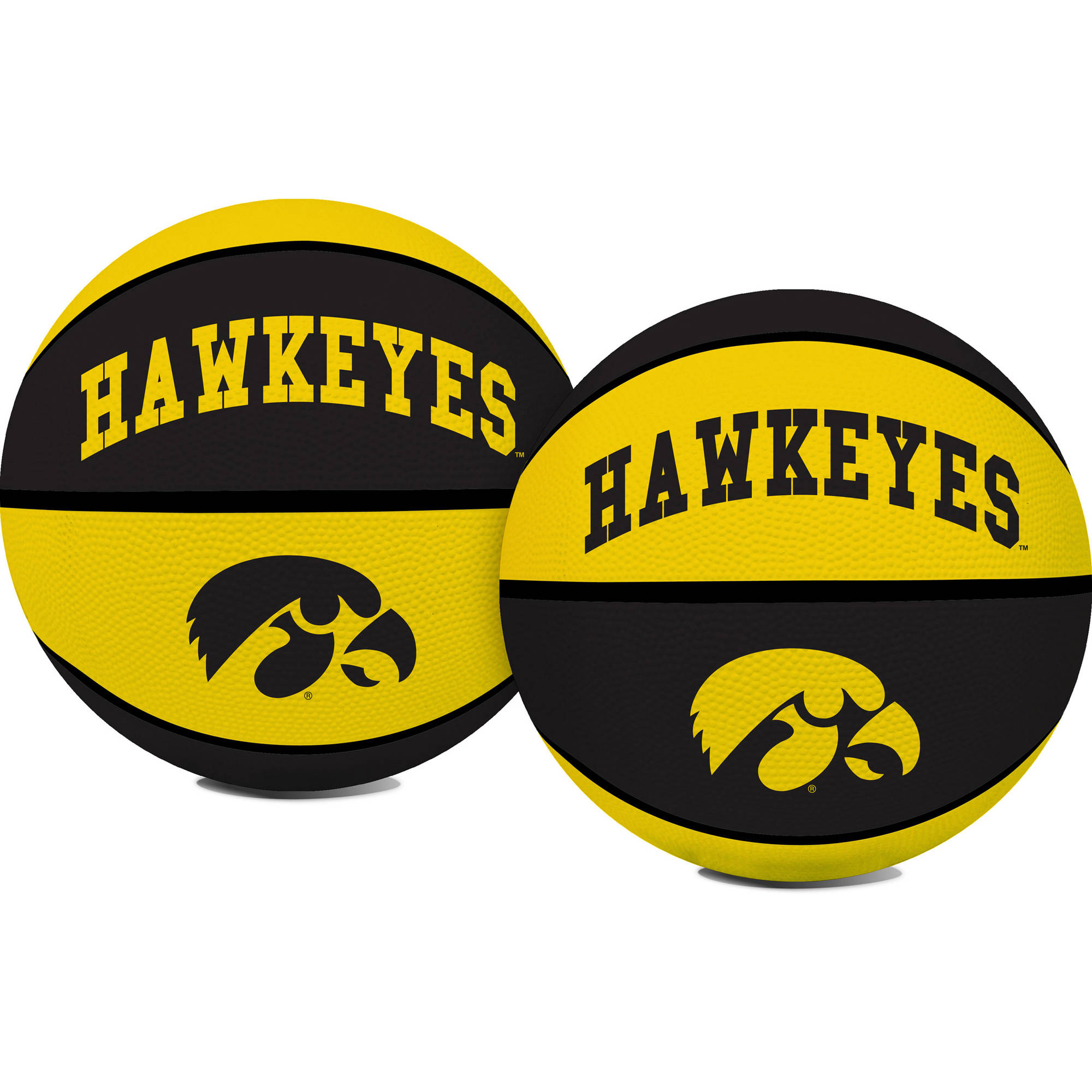 Rawlings NCAA Crossover Full Size Basketball University Of Iowa Hawkeyes