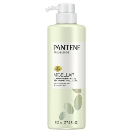 Pantene Pro-V Blends Micellar Conditioner with Aloe Gentle Moisturizing Milk, 17.9 fl oz