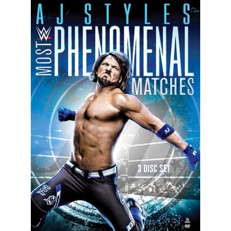 WWE: A.J. Styles Most Phenomenal Matches (DVD) (Wwe Hell In A Cell Matches Videos)