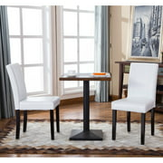 Roundhill Furniture Urban Style Padded Parson Dining Chair - Set of 2