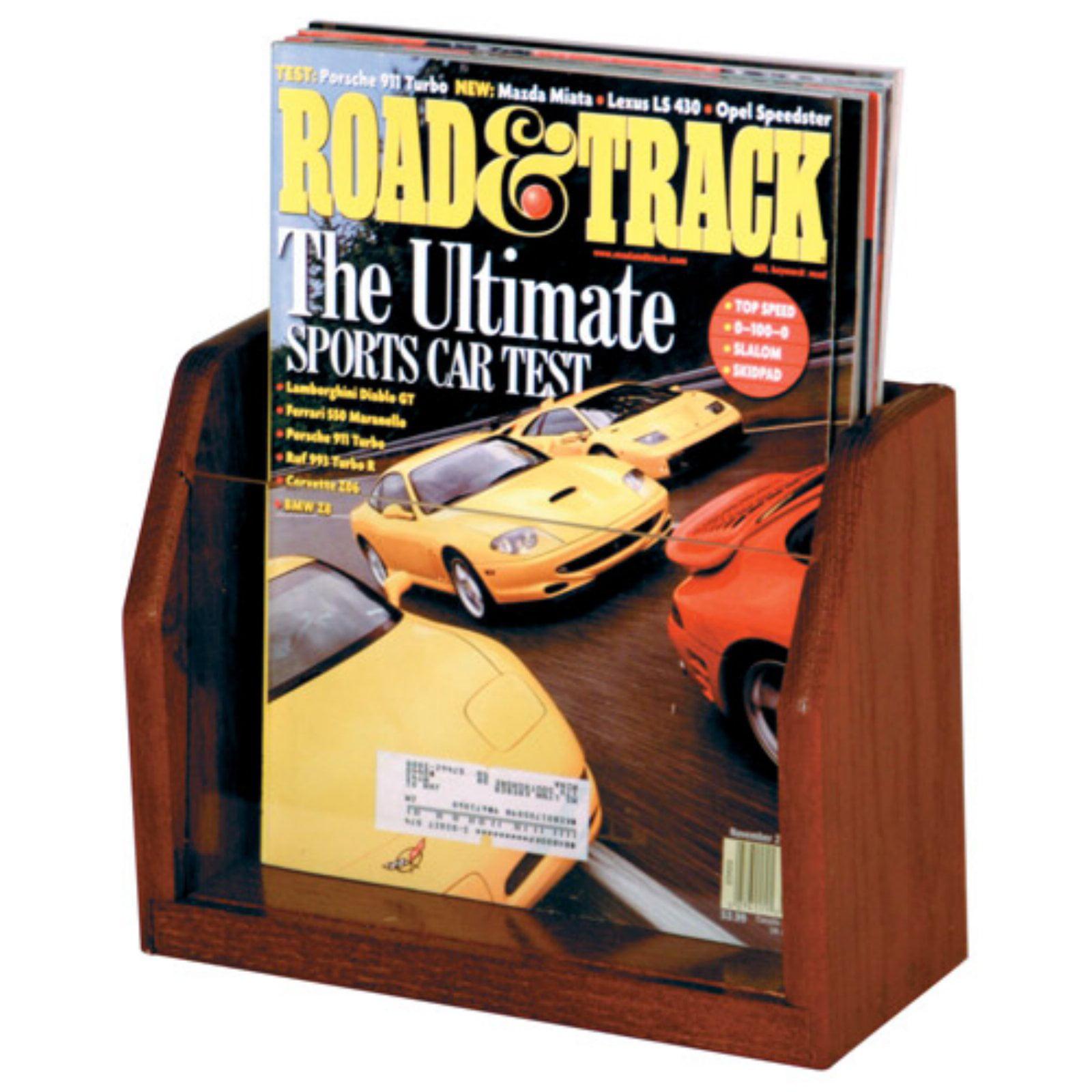 1-Pocket Magazine Rack by Wooden Mallet