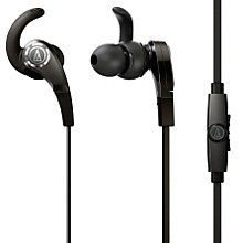 Audio Technica SonicFuel In-Ear Headphones with In-Line Microphone and Control