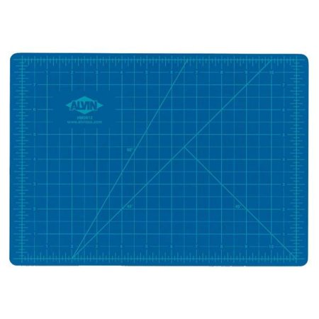 (Alvin Blue/Gray Self-Healing Hobby Mat 18 x 24)
