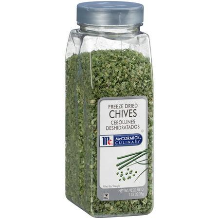 Freeze Dried Garlic - McCormick Culinary Freeze Dried Chives, 1.35 oz