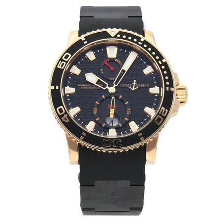 Pre-Owned Ulysse Nardin Maxi Marine Diver 266-33-3C/922 (15 Month WatchBox (Ulysse Nardin Le Locle Suisse Marine Chronometer)