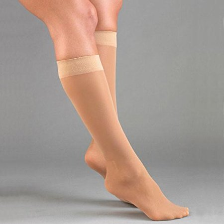 Firm Compression Knee High Support Stockings 20-30 mm : Beige Small H3001, Activa women's microfiber dress By Activa From USA