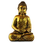Resin Meditating Buddha Figurine in Dhyana Mudra