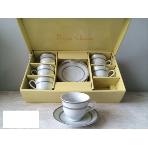 Imperial Gift Co. Espresso Cup Set (Set of 6)