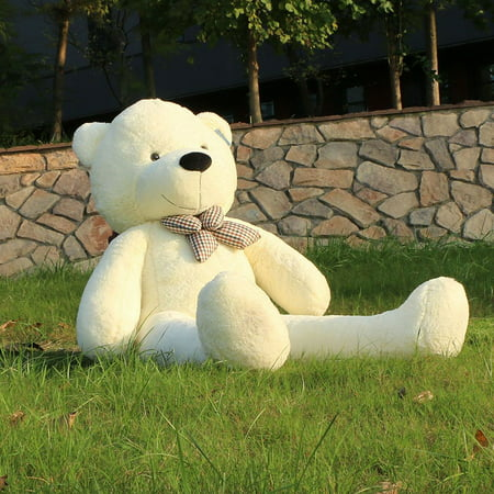 Joyfay Giant Teddy Bear- 5 ft White Stuffed Big Teddy Bear, Great for Christmas, Easter, Valentines Day, and - Giant Eraser