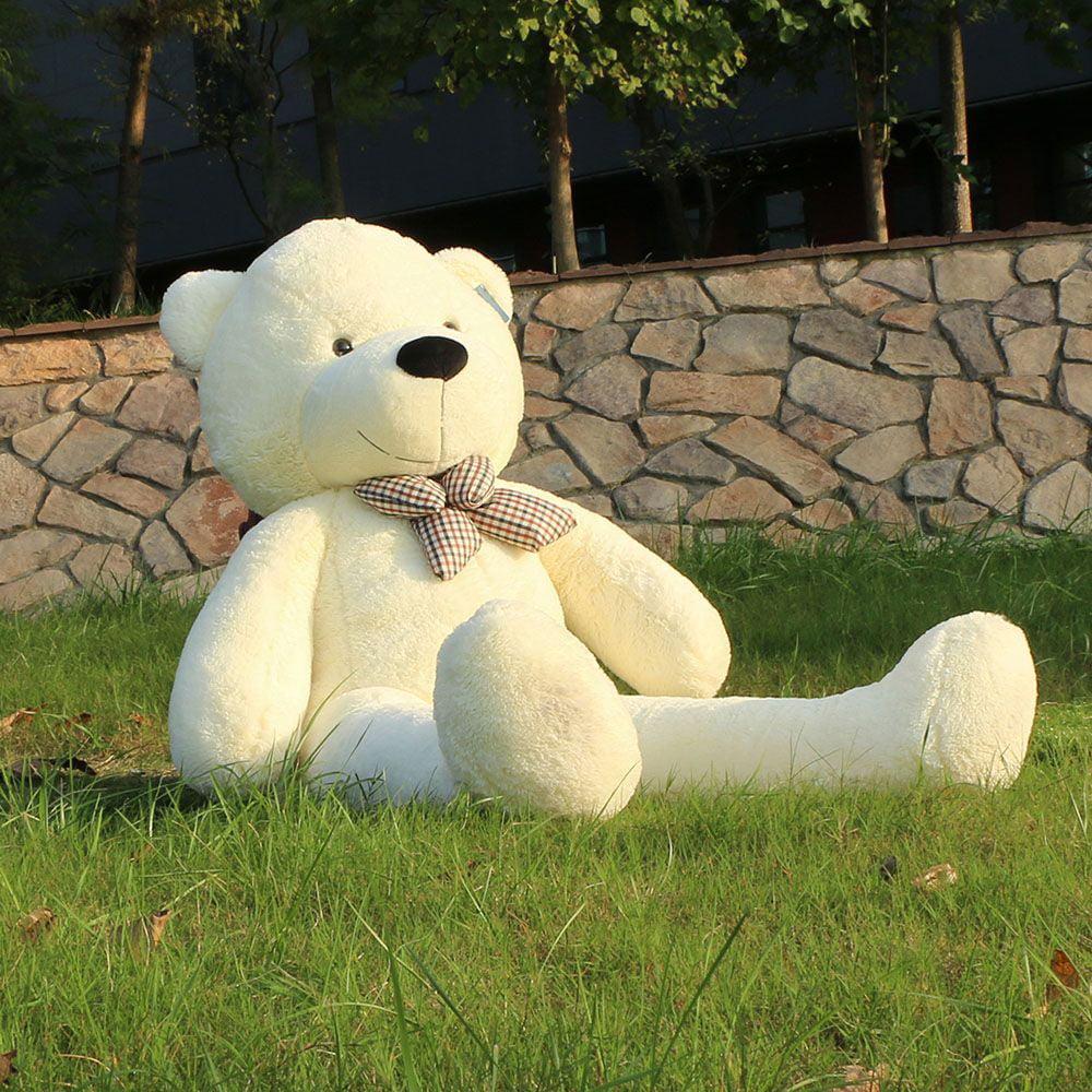 Joyfay Giant Teddy Bear- 5 ft White Stuffed Big Teddy Bear, Great for Christmas, Easter, Valentines Day, and Birthdays