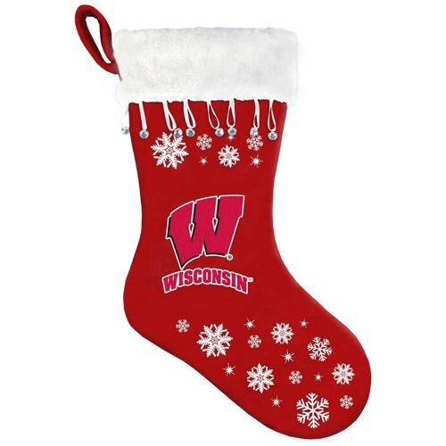 University of Wisconsin Badgers Snowflake Stocking