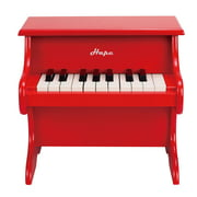 Hape Toys Playful Piano Red Wooden Happy Grand Piano for Toddlers & Children