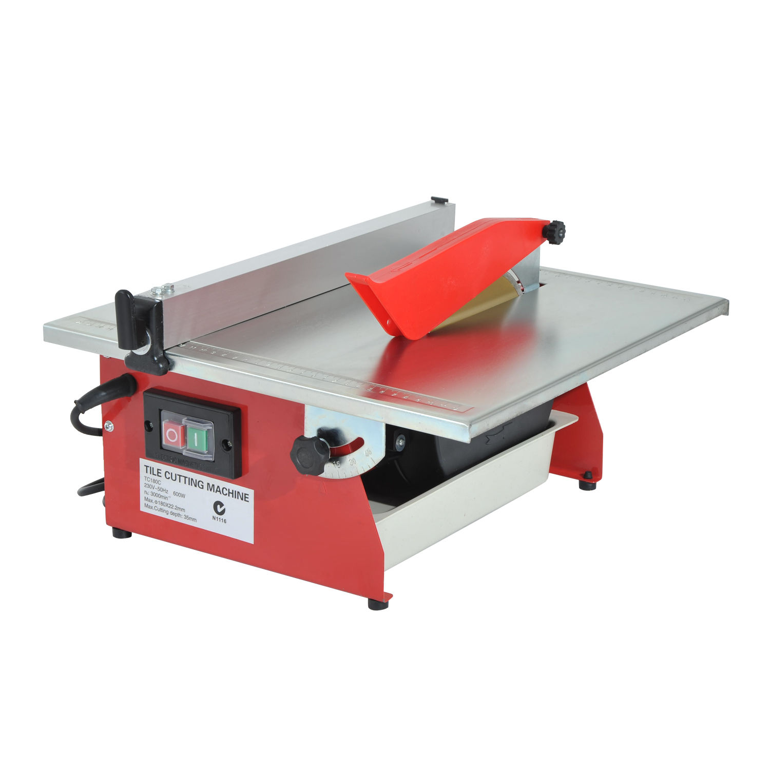 "HomCom 7"" Portable Table Wet Cutting Tile Saw"