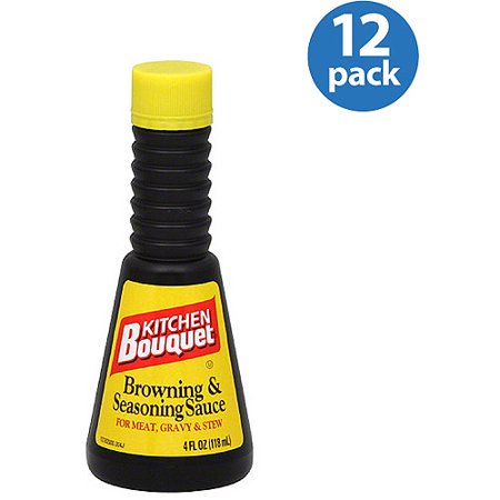 Kitchen Bouquet Browning Seasoning Cooking Sauce 4 Fl Oz Pack