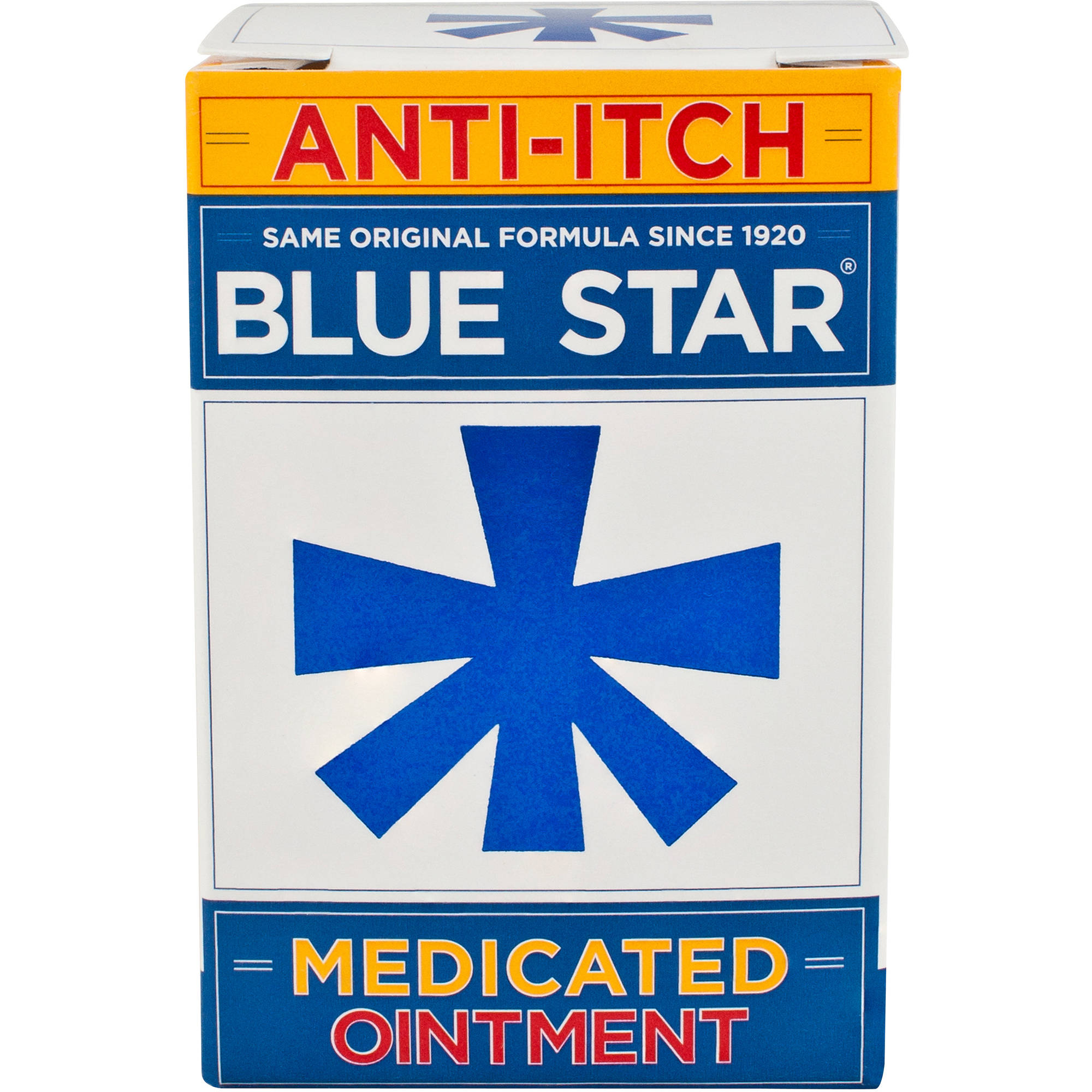 Blue Star Anti Itch Ointment, 2 oz Jar