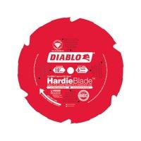 Diablo Hardie 10 in. Dia. x 5/8 in. Carbide Tipped Fiber Cement Blade 6 teeth 1 pc.