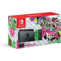 Nintendo Switch Hardware with Splatoon 2 + Neon Green/Neon Pink Joy-Cons