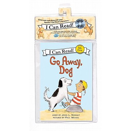 Halloween Songs For Kids Go Away (Go Away, Dog Book and CD)